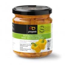 Peperoni Gialli semi secchi in olio